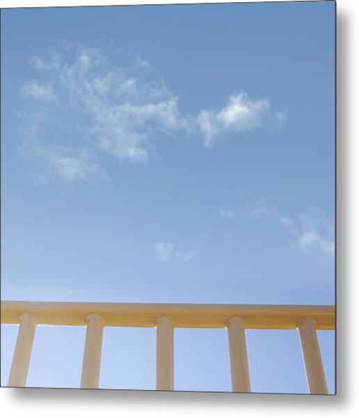 Monkey Bars Metal Print