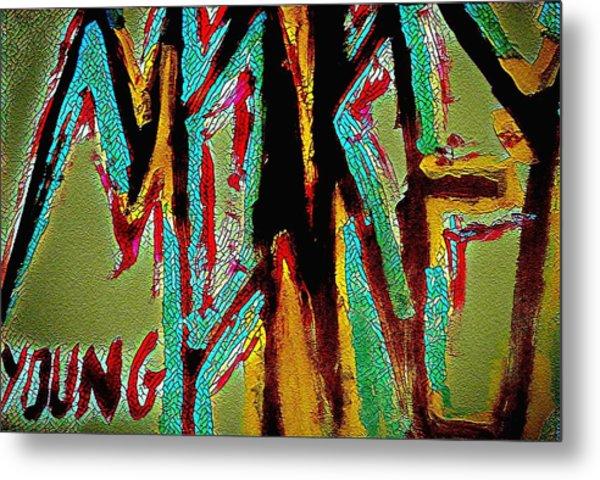 Monkey Young  Metal Print