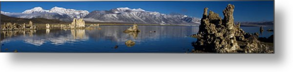 Mono Lake Pano Metal Print