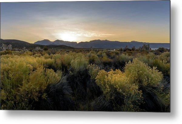 Mono Lake Sunset Metal Print by K Pegg