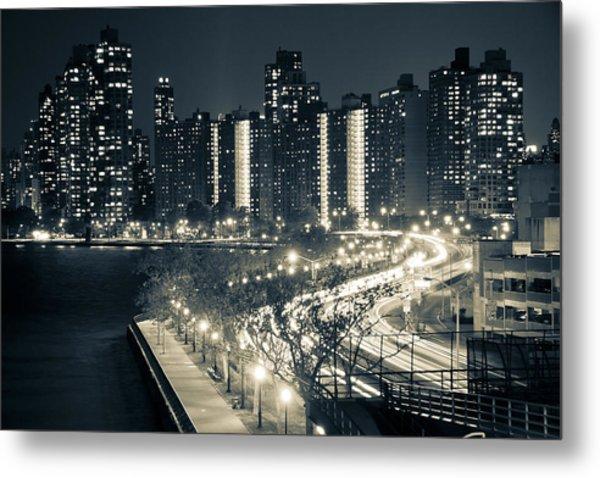 T Shirt Printing Norcross Ga Of Monochrome City Lights Photograph By Markus Stampfli