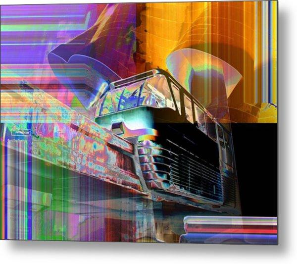 Monorail And Emp Metal Print