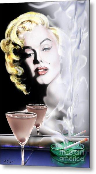 Monroe-seeing Beyond Smoke-n-mirrors Metal Print