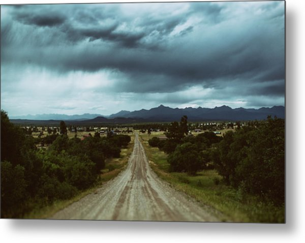 Monsoons From The Meadows Metal Print