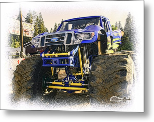 Metal Print featuring the photograph Monster Truck At The Fair by William Havle