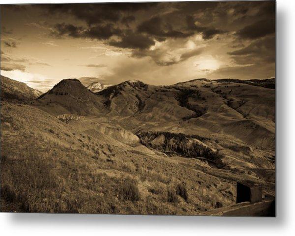 Montana Landscape Metal Print by Patrick  Flynn