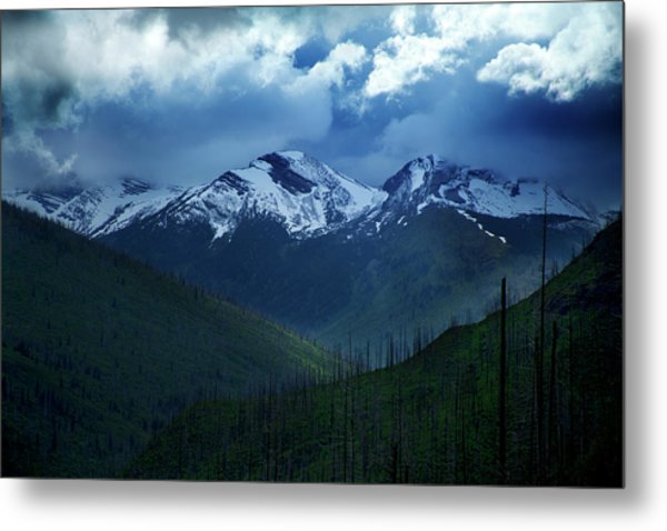 Montana Mountain Vista #2 Metal Print