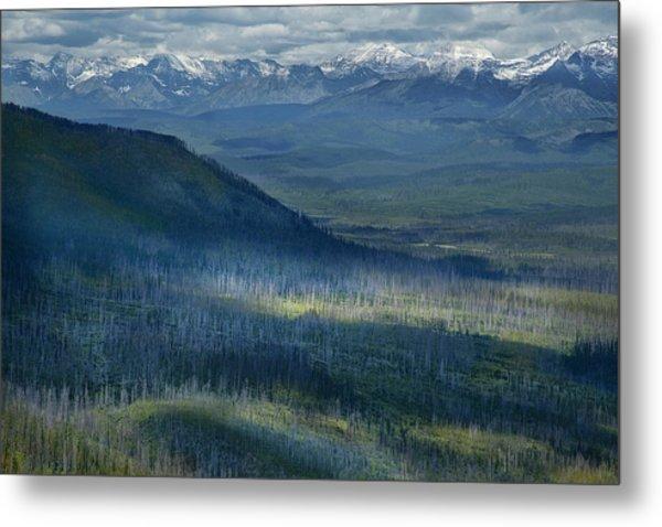 Montana Mountain Vista #3 Metal Print