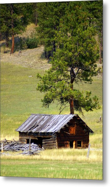Montana Ranch 2 Metal Print