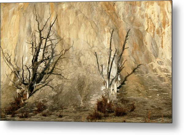 Montana Rock Wall Metal Print