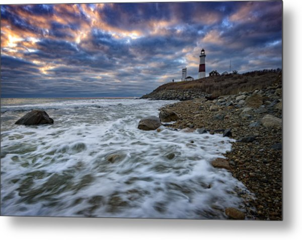 Montauk Morning Metal Print