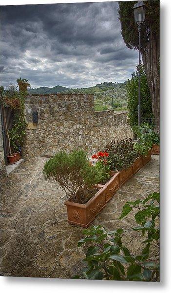 Montefioralle Tuscany 4 Metal Print