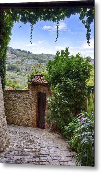 Montefioralle, Tuscany Metal Print