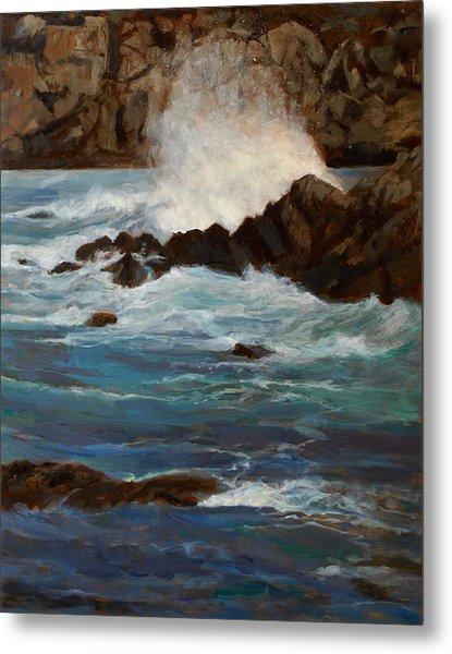 Monterey Wave #1 Metal Print