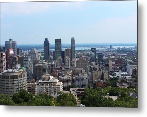 Montreal Cityscape Metal Print