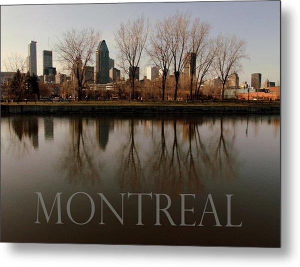 Montreal Metal Print