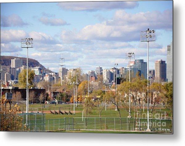 Montreal View From Verdun Metal Print