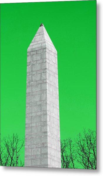 Monument Green Metal Print by Tina B Hamilton