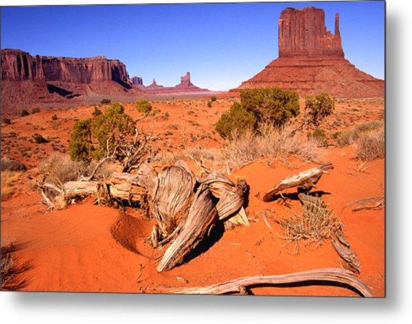 Monument Valley, Arizona, U S A Metal Print