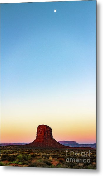Monument Valley Morning Glory Metal Print