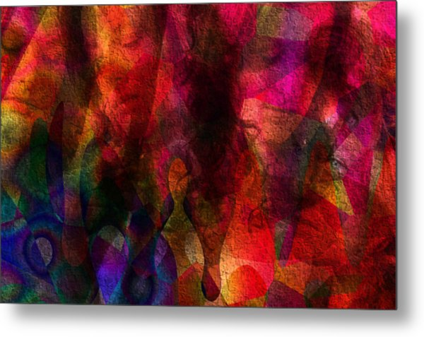 Moods In Abstract Metal Print