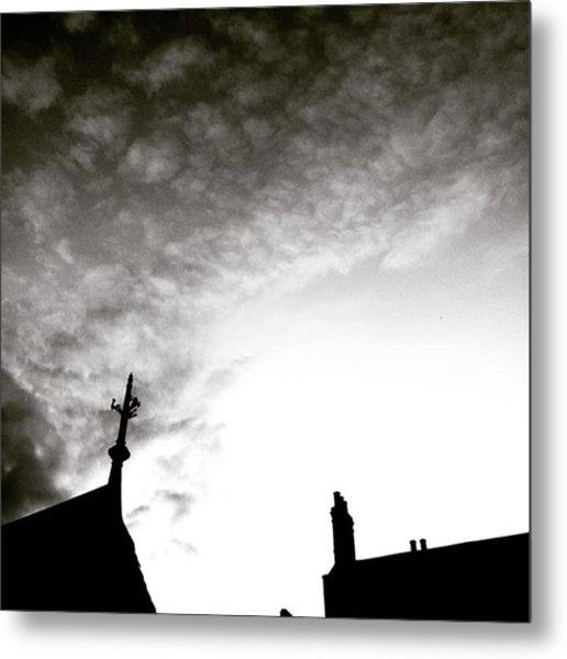 Moody Sky... . . . . #moody #sky Metal Print