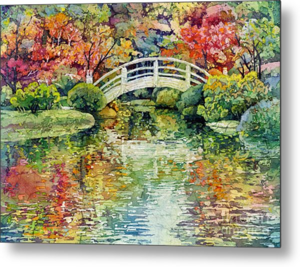 Moon Bridge Metal Print
