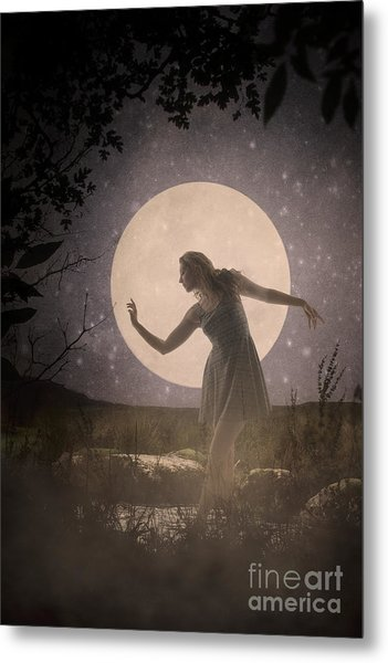 Moon Dance 001 Metal Print