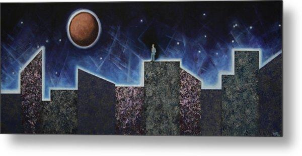 Moon Eclipse Metal Print