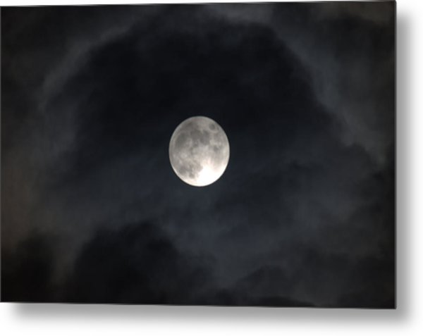 Moon Eye Metal Print