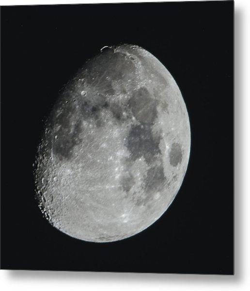 Moon On Day 12 Metal Print