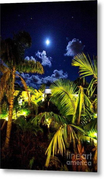 Moon Over Islands Metal Print by Rick Bragan
