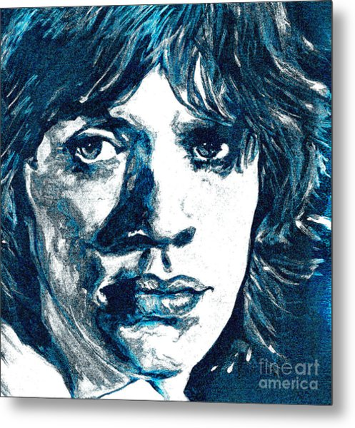 Moonlight Mile Metal Print