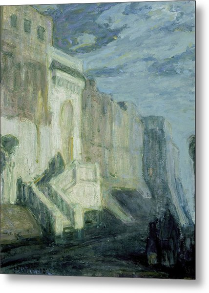 Moonlight - Walls Of Tangiers Metal Print