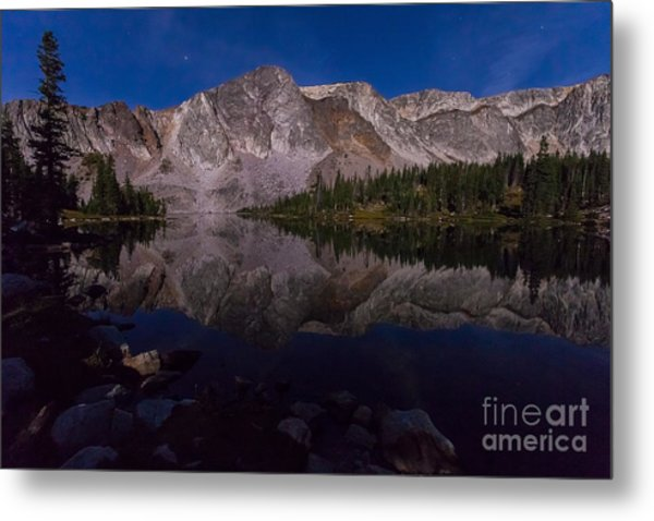 Moonlit Reflections  Metal Print