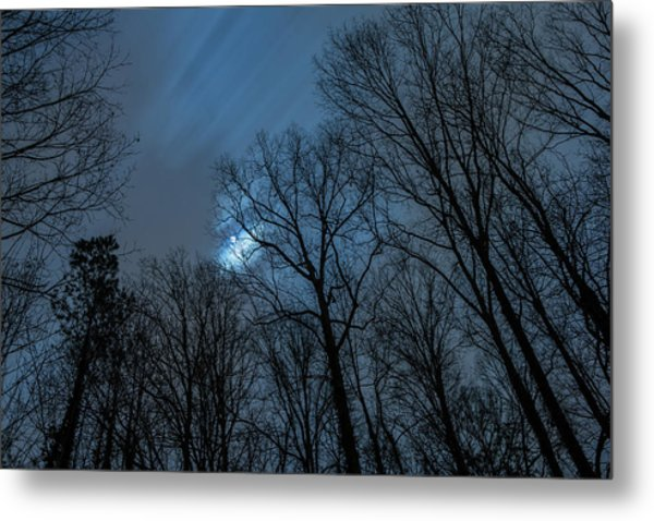 Moonlit Sky Metal Print