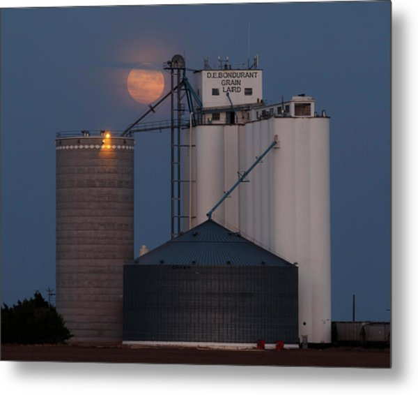 Moonrise At Laird -01 Metal Print