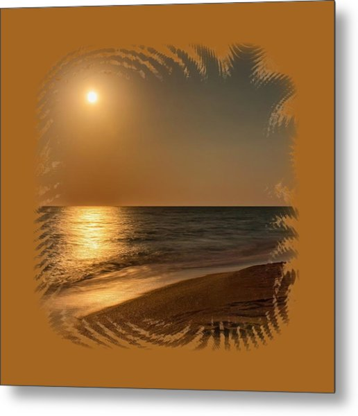 Moonscape 3 Metal Print
