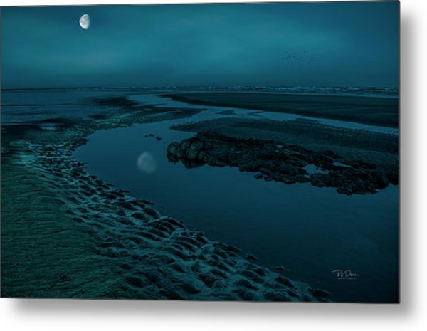 Moonscape 4 Metal Print