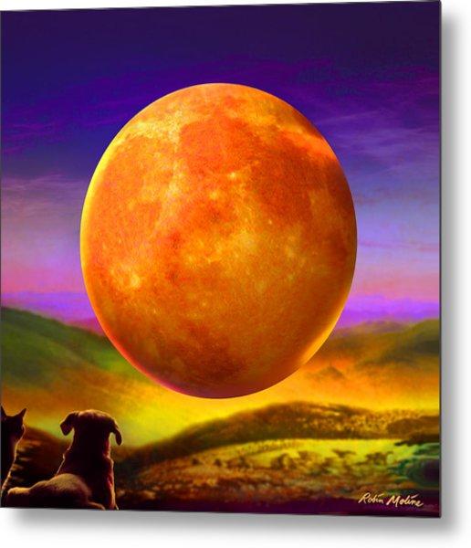 Moonshine Forever Metal Print