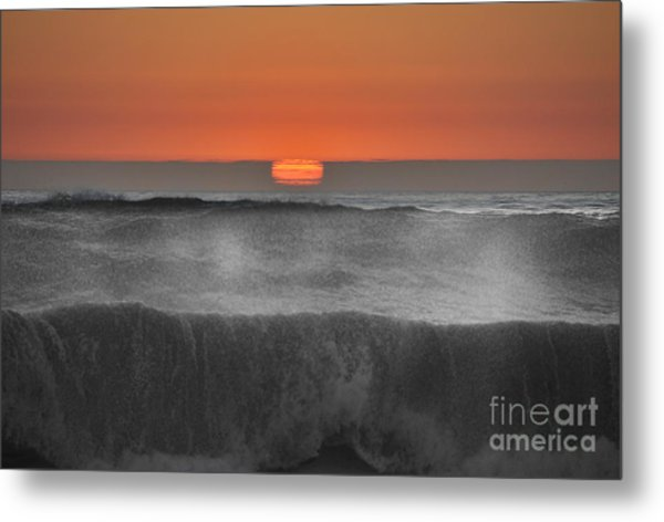Moonstone Beach Sunset Metal Print