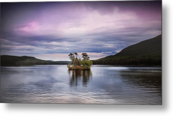 Moose Pond Maine Metal Print
