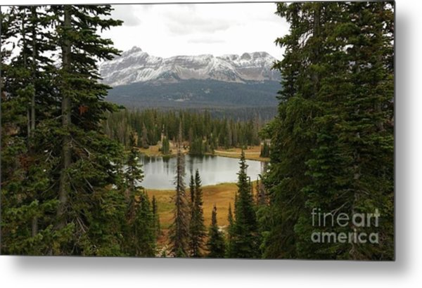 Moosehorn Lake Metal Print