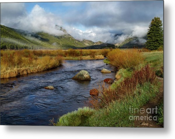 Moraine Park Morning - Rocky Mountain National Park, Colorado Metal Print