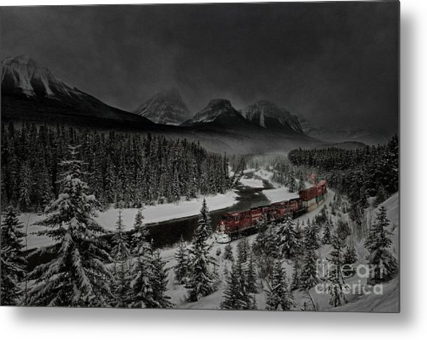 Morant's Curve At Night Metal Print