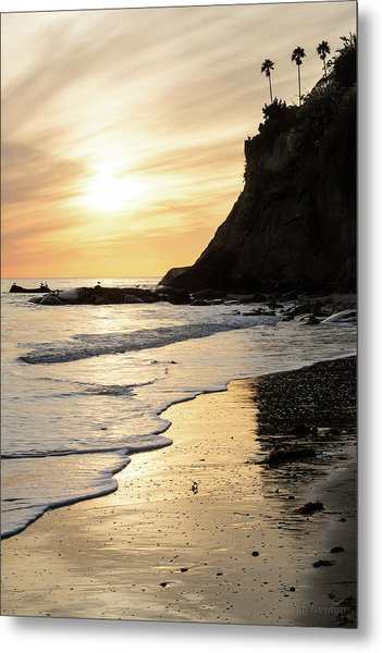 Metal Print featuring the photograph More Mesa Sunset West by Tim Newton
