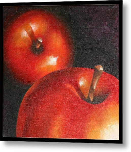 More Red Apples Metal Print by Jose Romero