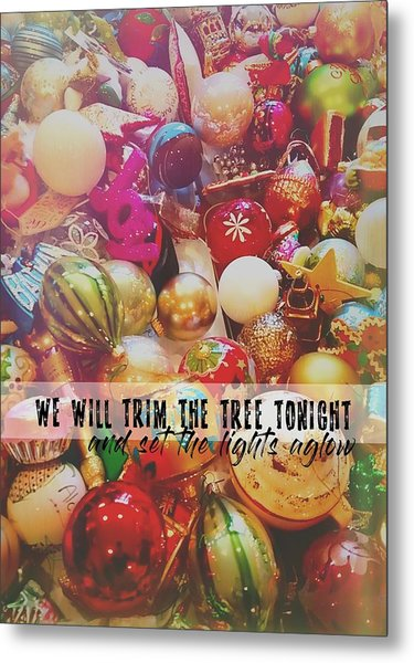 More Sparkle Quote Metal Print by JAMART Photography