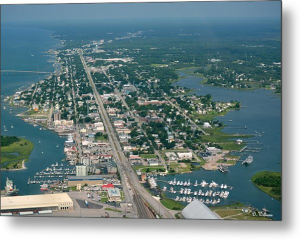 Morehead City Metal Print