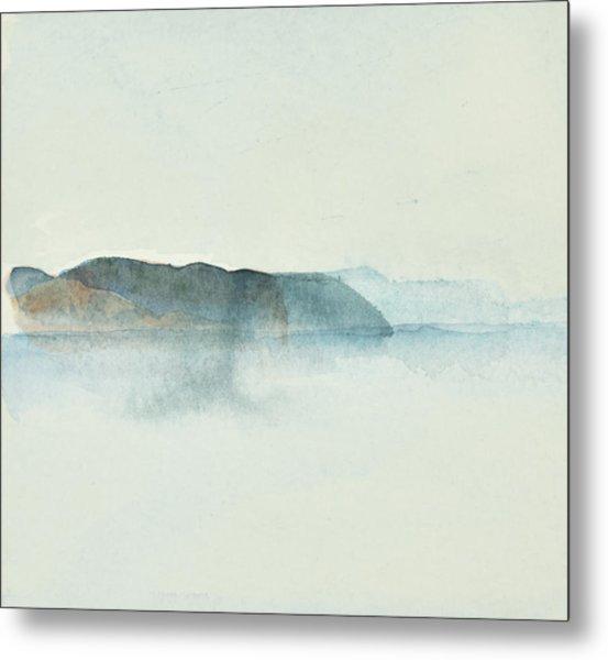 Morgondis Over Kusten - Morning Haze Over The Swedish Westcoast, Hunnebo_1211 Up To 70 X 70 Cm Metal Print